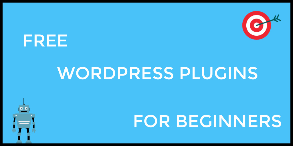 7 free WordPress plugins you can use as you start your blog. Read the post to get them!