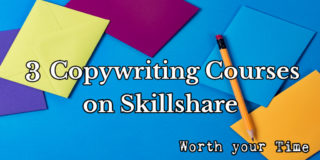 3 Copywriting courses worth your time on Skillshare